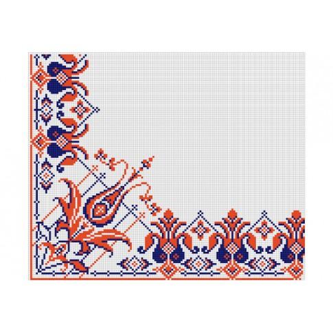 "Free cross stitch pattern ""Ornament 21"""