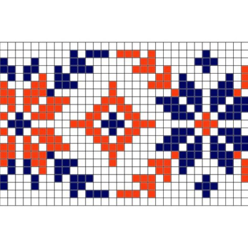 "Free cross stitch pattern ""Ornament 25"""
