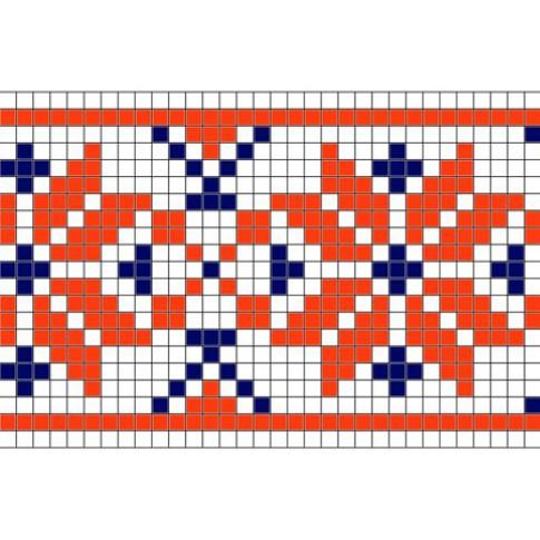 "Free cross stitch pattern ""Ornament 26"""