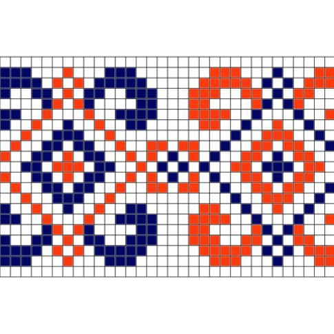 "Free cross stitch pattern ""Ornament 28"""