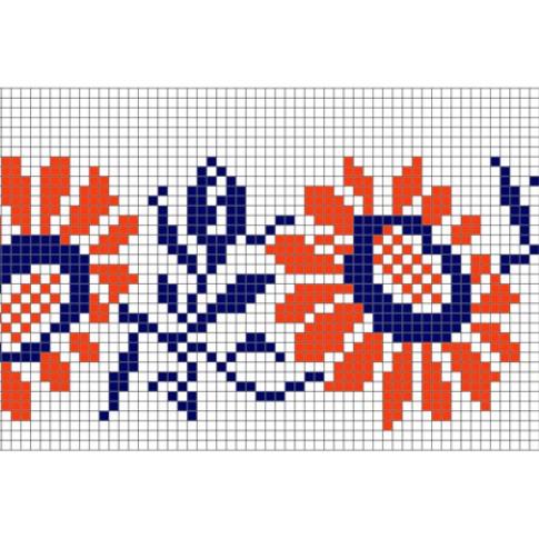 "Free cross stitch pattern ""Ornament 29"""