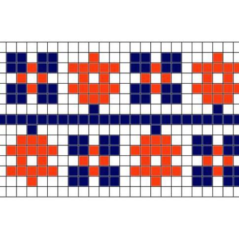 "Free cross stitch pattern ""Ornament 30"""