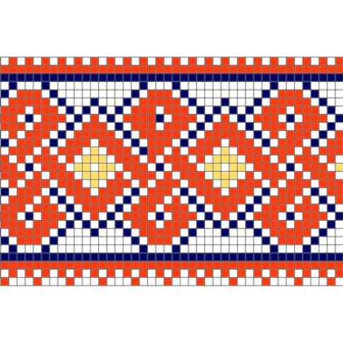 "Free cross stitch pattern ""Ornament 34"""