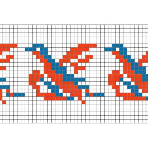 "Free cross stitch pattern ""Ornament 36"""