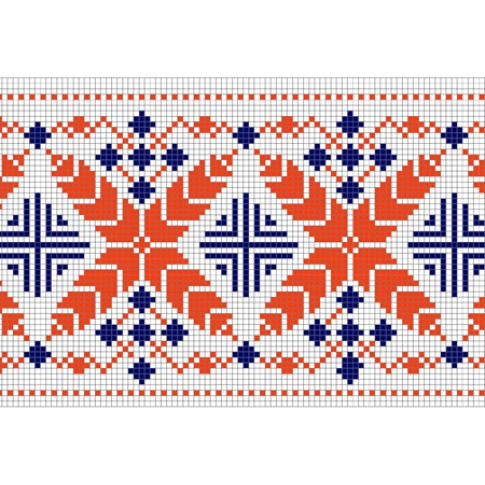 "Free cross stitch pattern ""Ornament 37"""