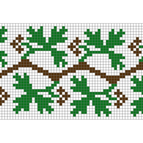 "Free cross stitch pattern ""Ornament 38"""