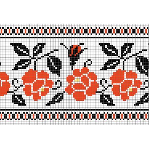 "Free cross stitch pattern ""Ornament 45"""