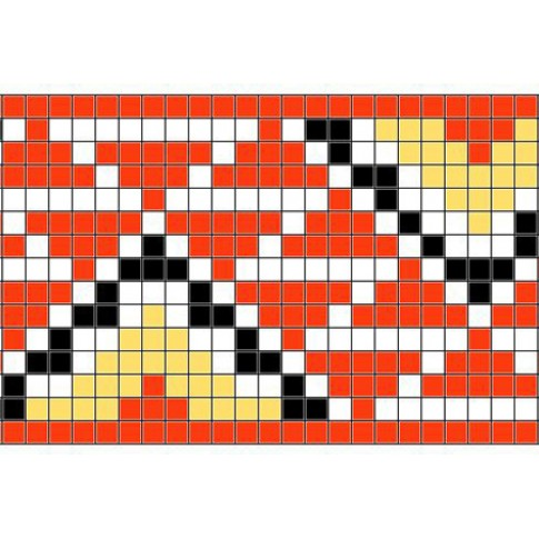 "Free cross stitch pattern ""Ornament 46"""