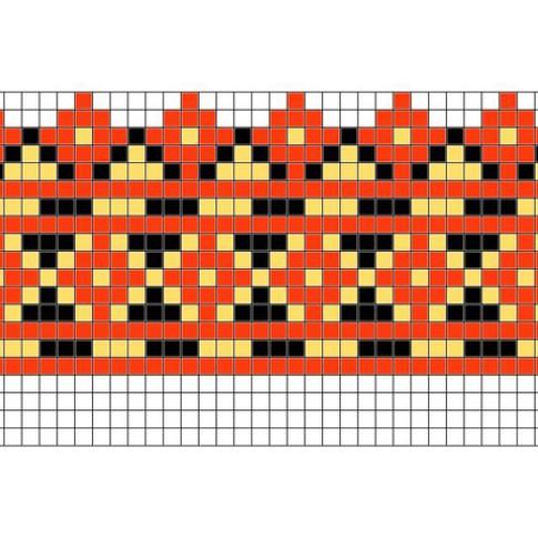 "Free cross stitch pattern ""Ornament 54"""