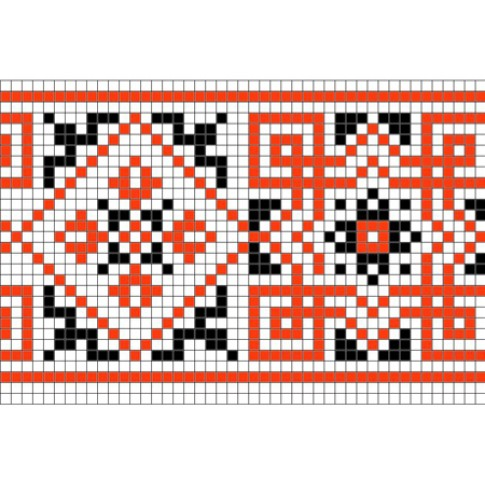 "Free cross stitch pattern ""Ornament 55"""