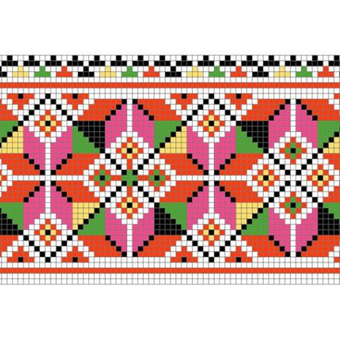 "Free cross stitch pattern ""Ornament 57"""