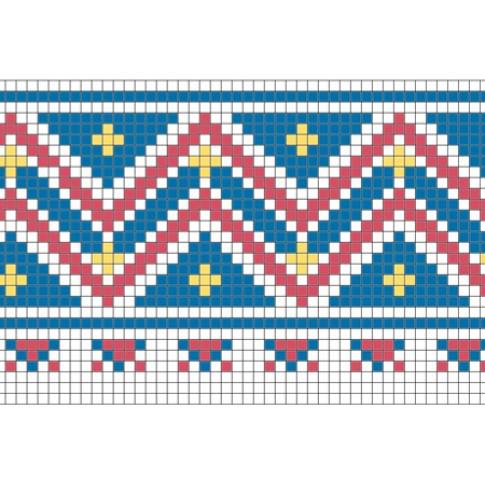 "Free cross stitch pattern ""Ornament 63"""