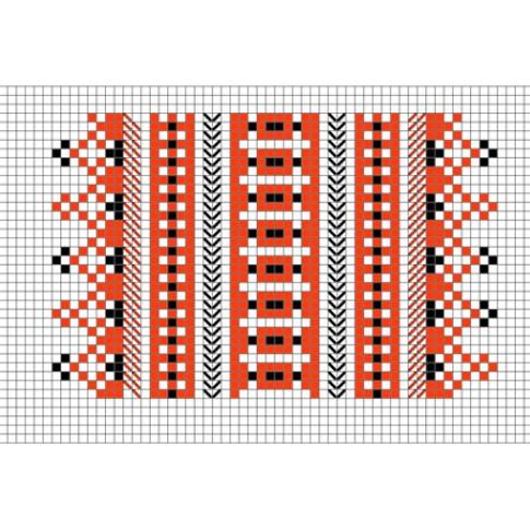 "Free cross stitch pattern ""Ornament 66"""