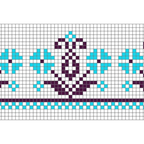 "Free cross stitch pattern ""Ornament 68"""