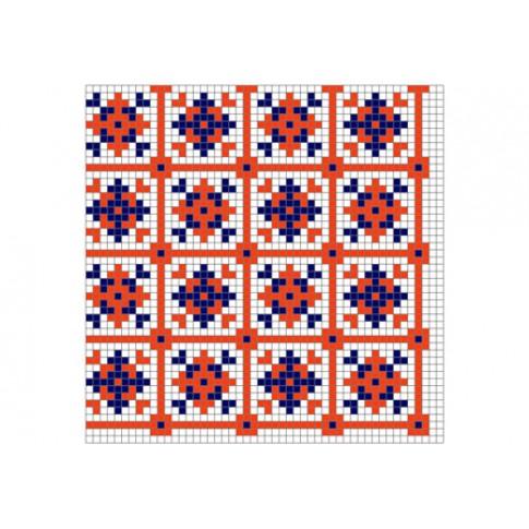 "Free cross stitch pattern ""Ornament 75"""