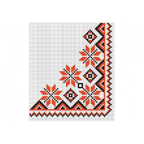 "Free cross stitch pattern ""Ornament 90"""