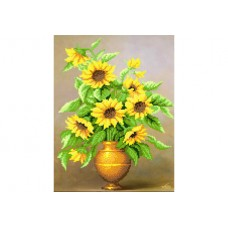 """""""Sunny bouquet"""" - Bead embroidery pattern"""
