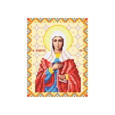 """""""Saint Eve"""" - Bead embroidery pattern of icon"""