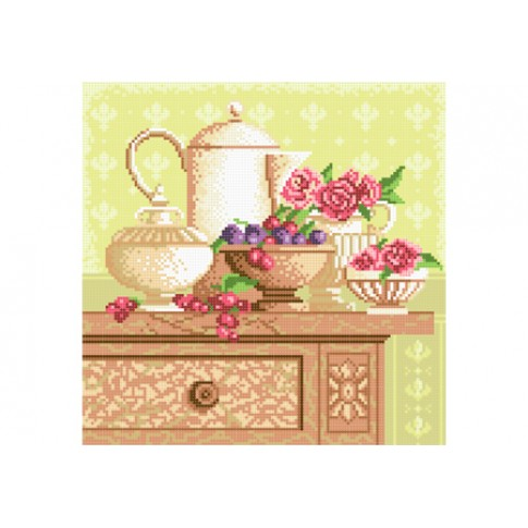 "Bead embroidery pattern ""Kitchen still life"""