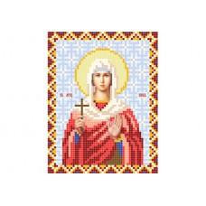 """Saint Nika of Corinth"" - Bead embroidery pattern of icon"