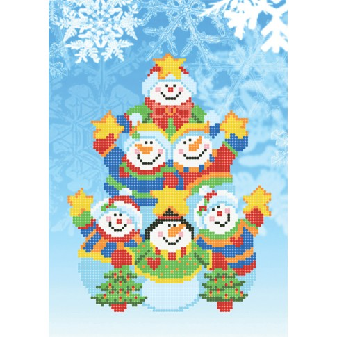 """Bead embroidery pattern """"Winter'sTale"""""""