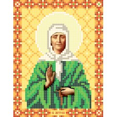"""""""Saint Matrona of Moscow"""" - Bead embroidery pattern of icon"""