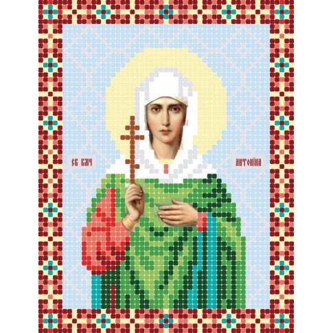 """Bead embroidery pattern of icon """"Saint Antonina"""""""