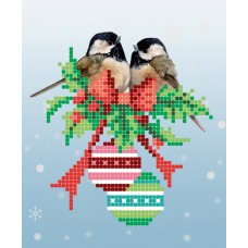 """""""The holiday is coming!"""" - Bead embroidery pattern"""