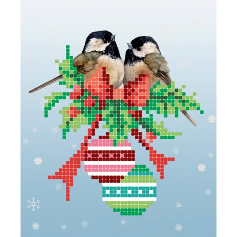 "Bead embroidery pattern ""The holiday is coming!"""