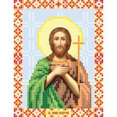 """Saint John the Baptist"" - Bead embroidery pattern of icon"