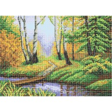 """Autumn path"" - Bead embroidery pattern"