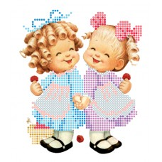 """Bead embroidery kit """"Girls"""""""