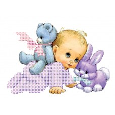 """Bead embroidery kit """"Baby"""""""