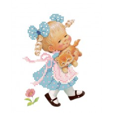 """Bead embroidery kit """"Best friends"""""""
