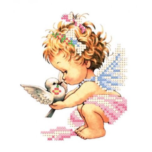 "Bead embroidery kit ""Angel"""