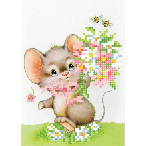 "Bead embroidery pattern ""Mouse"""