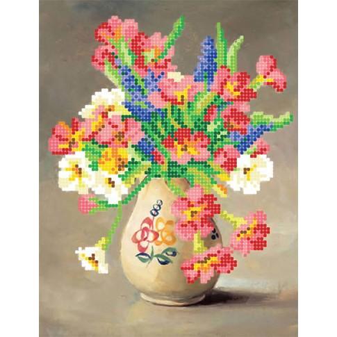 "Bead embroidery pattern ""Primrose"""