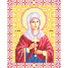 """""""Saint Margaret of Antioch"""" - Bead embroidery pattern of icon"""