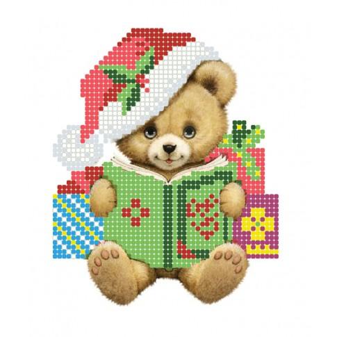 "Bead embroidery pattern ""Bear cub"""