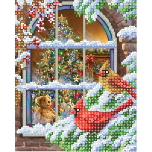 "Bead embroidery pattern ""Christmas story"""