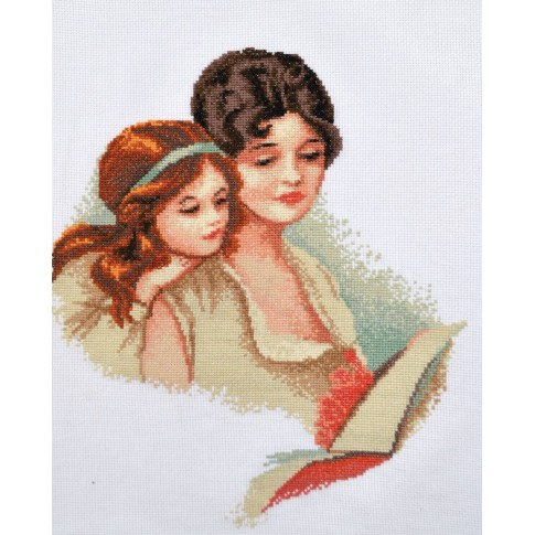 "Cross stitch kit ""Mom's Happiness"""