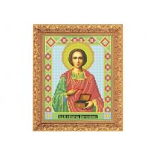 "Bead embroidery kit of icon ""Saint Pantaleon"""