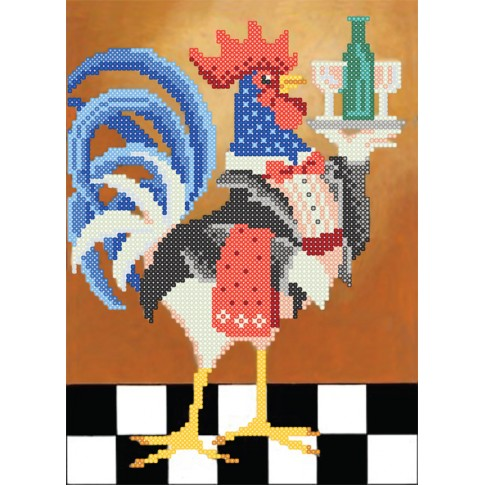 """Bead embroidery kit """"Cheers!"""""""