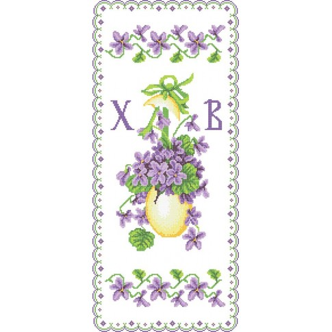 """Bead embroidery pattern of easter towel """"Easter Rushnyk 2"""""""