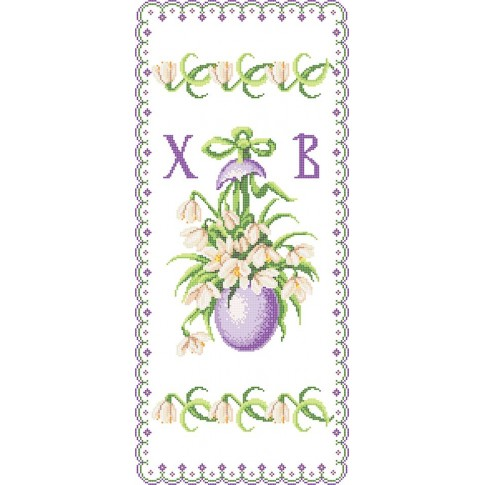 "Bead embroidery pattern of easter towel ""Easter Rushnyk 3"""