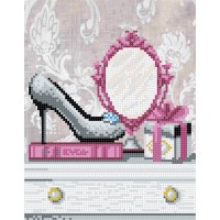"""Mirror for fashionista"" - Bead embroidery pattern"