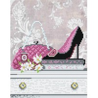 """Heels for fashionista"" - Bead embroidery pattern"