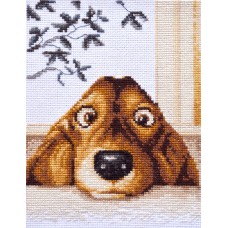 """True friend"" - Cross stitch kit"