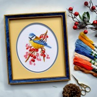 """Frosty morning"" - Cross stitch kit"