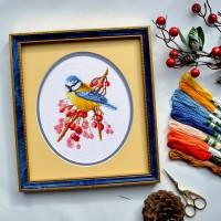 """""""Frosty morning"""" - Cross stitch kit"""